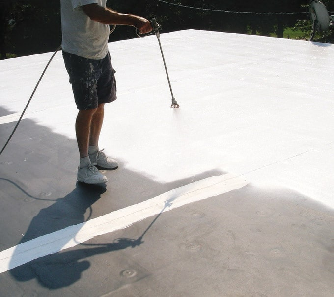 Conklin Membrane Coating Roofing Grandview Roofing System